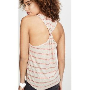 NWT Joie Rayson Sexy Twist Back Linen Knit Top